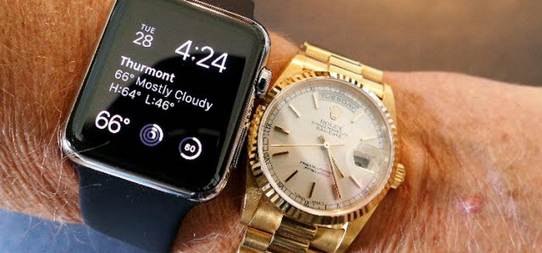 Apple Watch победили Rolex