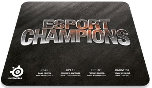 SteelSeries Champions Bundle - ковер