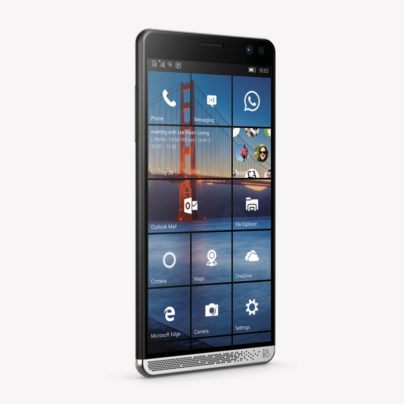 HP Elite x3 right facing