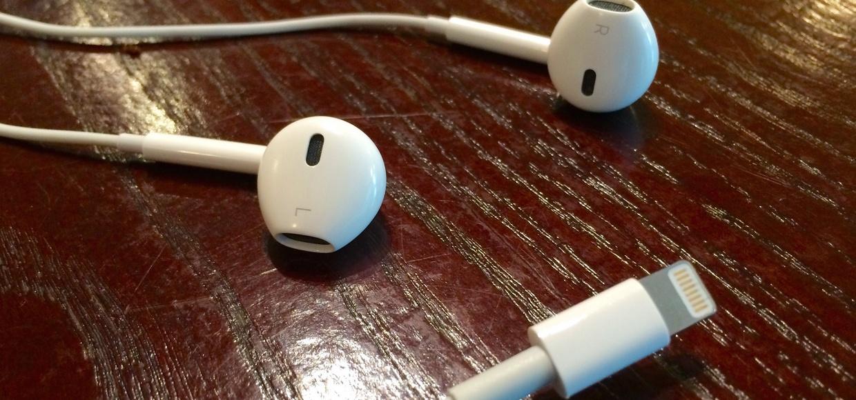 В Lightning-наушниках для iPhone 7 не будет шумоподавления