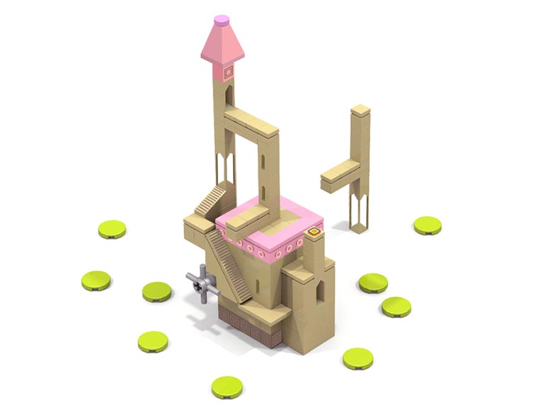 Monument Valley _Lego_3