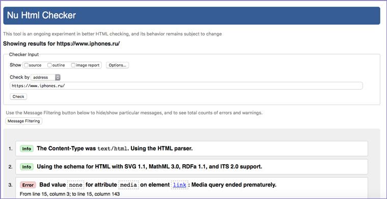 html_validator