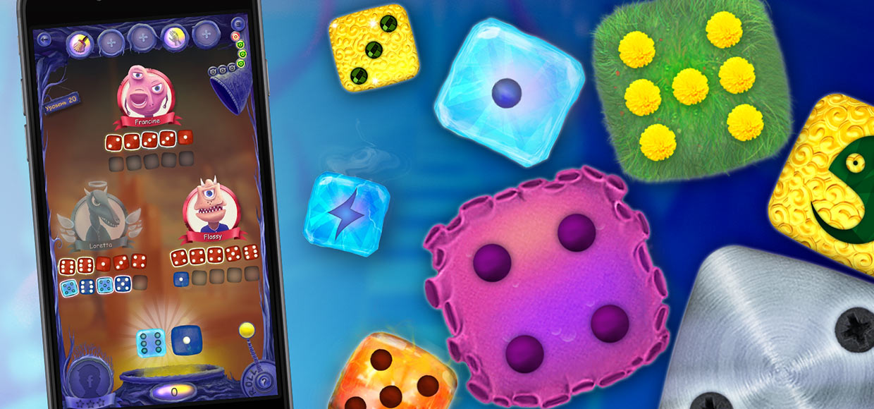 Reiner Knizia's Dice Monsters по-новому