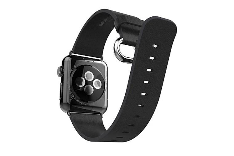 Комплект ремешков APPLE Watch 38mm ROCK Genuine Leather Watch Strap Brown