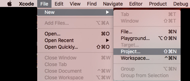 xcode_create_project
