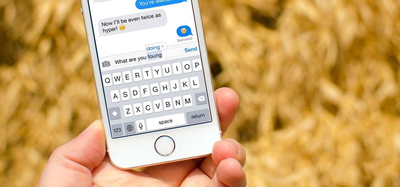 Apple улучшит автокоррекцию в iOS. Чтобы рейс не менялся на секс