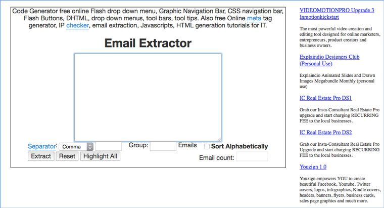 email_extractor