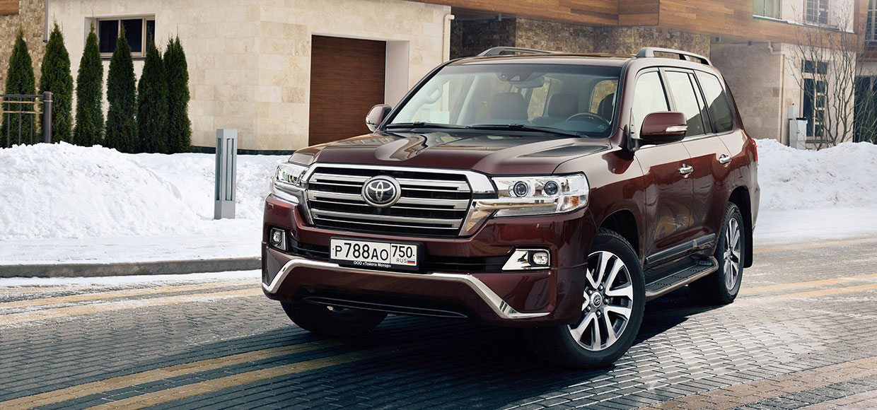 Land Cruiser 200 Executive: подвинься, Lexus