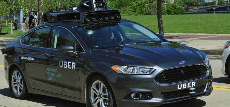 Это Ford Fusion от Uber. И скоро он избавится от водителя