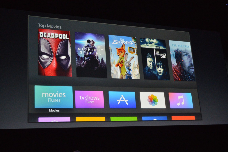 Новая tvOS для Apple TV: Ночной режим, 1300 каналов и API
