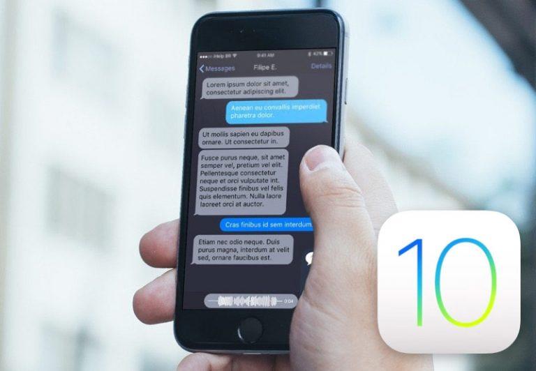 В коде iOS 10 найден «тёмный» режим