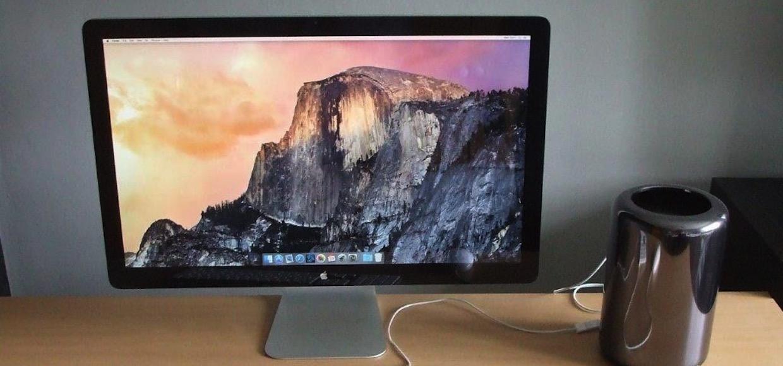 Apple работает над созданием Thunderbolt Display со встроенным GPU
