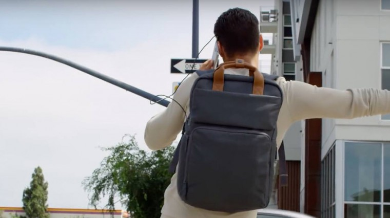 Мужская штука. Рюкзак HP Powerup Backpack со встроенной мега-батареей