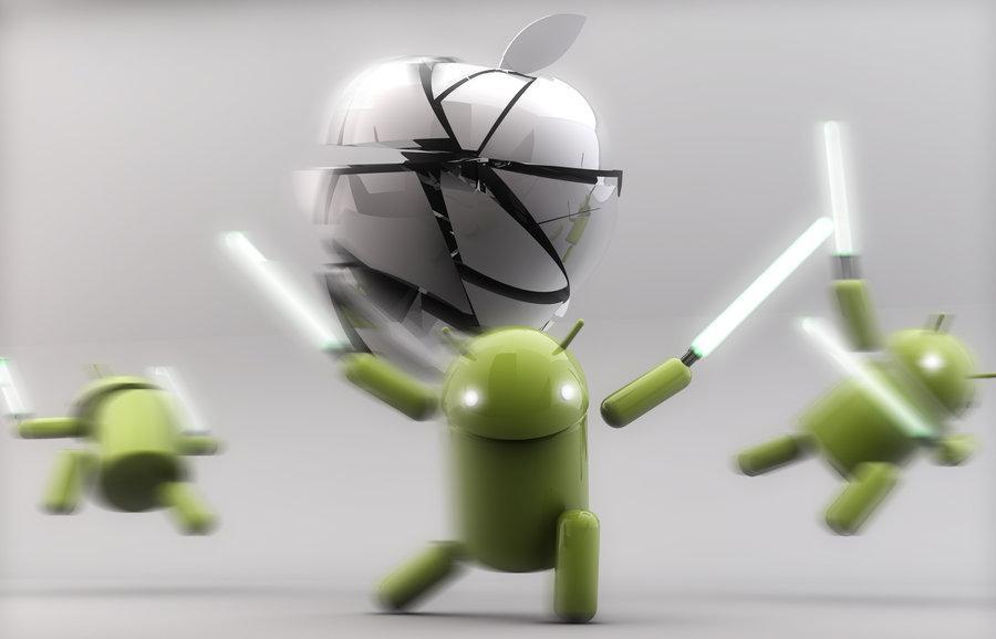 Докатились. Android признан стабильнее iOS