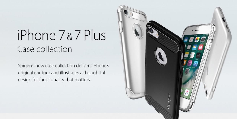 Для iPhone 7 и iPhone 7 Plus уже начали продаваться чехлы