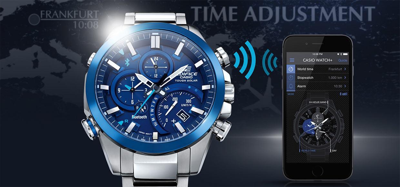 Casio обновила «умный» хронограф Edifice EQB-500