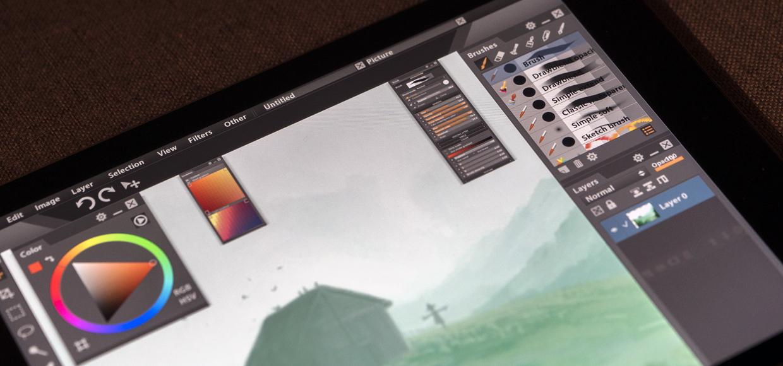 Обзор Paintstorm. Как Photoshop для iPad, но с полноценным интерфейсом
