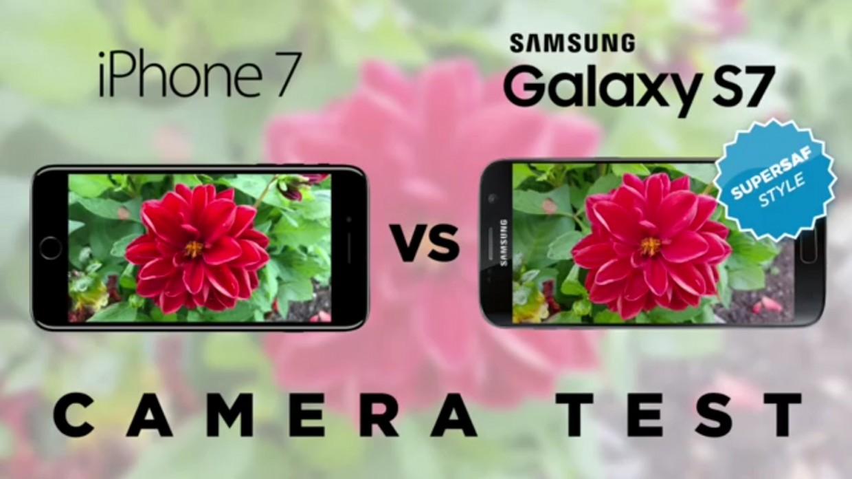 Камеру iPhone 7 сравнили с Samsung Galaxy S7 (фото + видео)