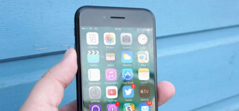 У iPhone 7 проблемы с разговорным динамиком