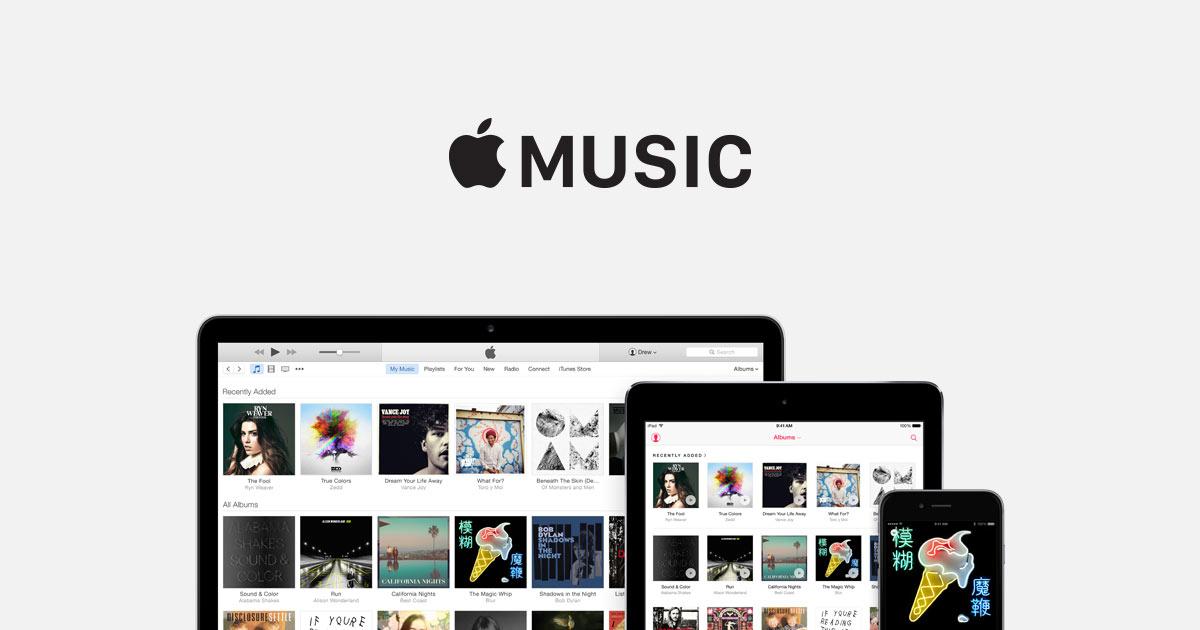 В Apple Music на iOS 10 и macOS Sierra появились персональные плейлисты