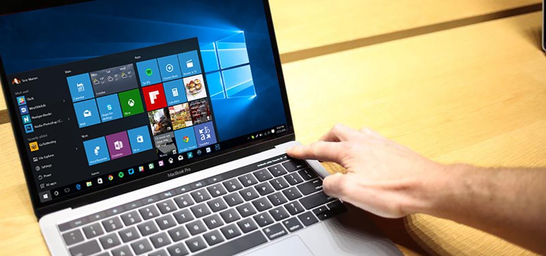 Touch Bar в новых MacBook Pro не работает с Windows