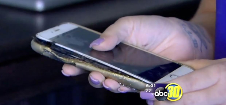 Еще один iPhone 6 Plus взорвался во время зарядки