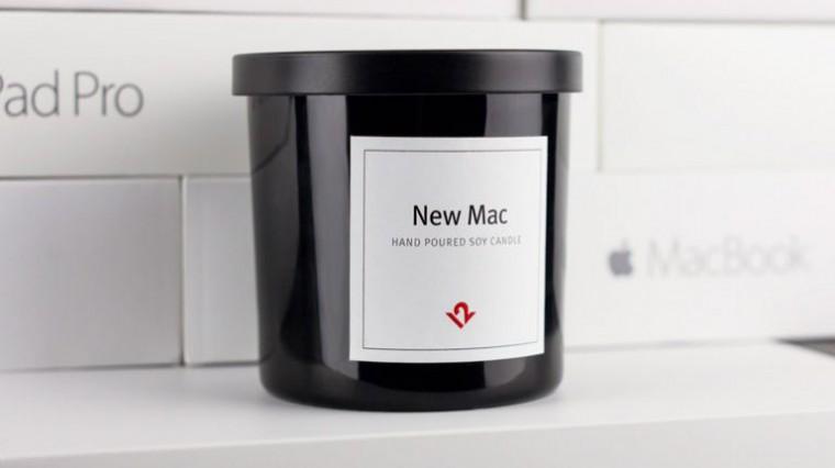 TwelveSouth выпустил свечи с запахом нового Mac. НЮХАЙ