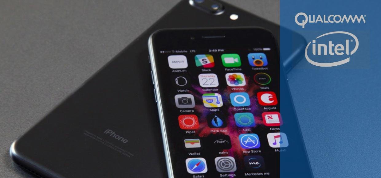 iPhone 7 c модемами от Qualcomm на 30% быстрее версий с Intel