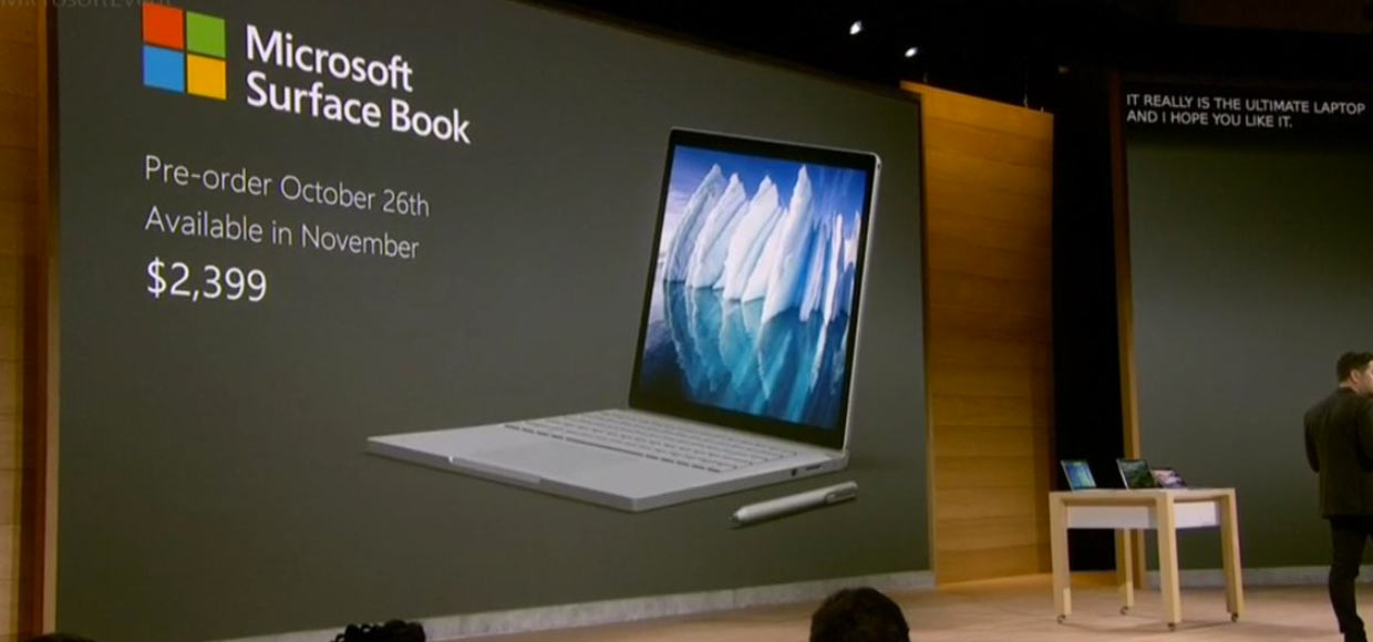 Microsoft представила ноутбук Surface Book i7. В Apple напряглись