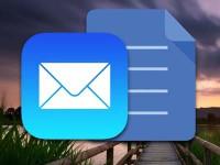 Как добавить в письмо на iPhone несколько фотографий?