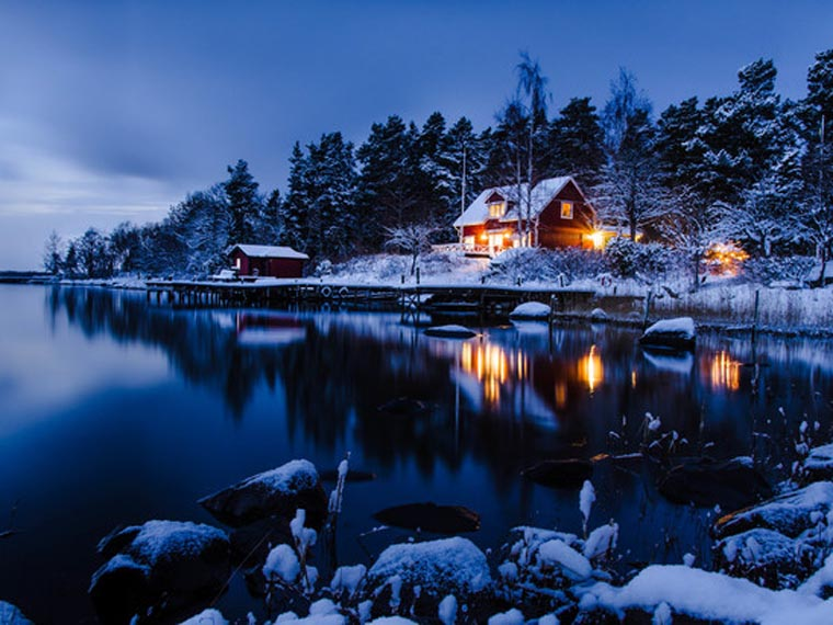 Winter on the island II