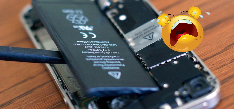 Обновления iOS убивают аккумулятор iPhone