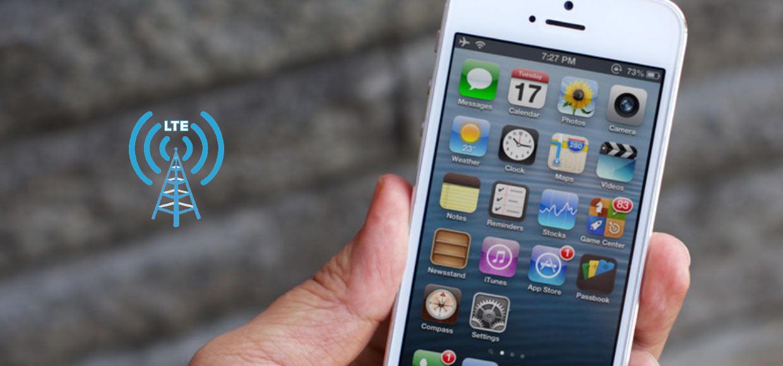Почему в iPhone 5 не работает LTE у оператора Мегафон