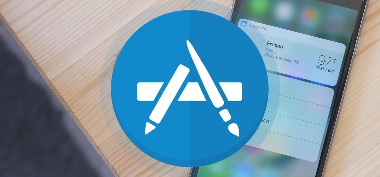 Приложения с полезными виджетами для 3D Touch на iPhone 7 (6s)