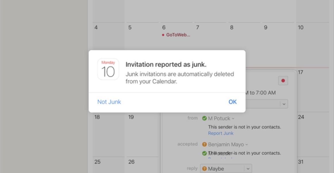 Как избавиться от спама в Календаре навсегда