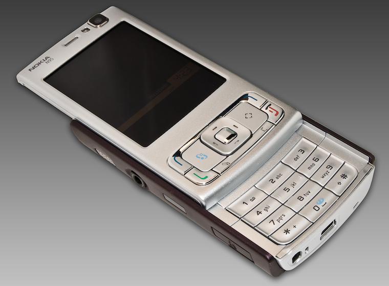 Nokia N95 Front Open