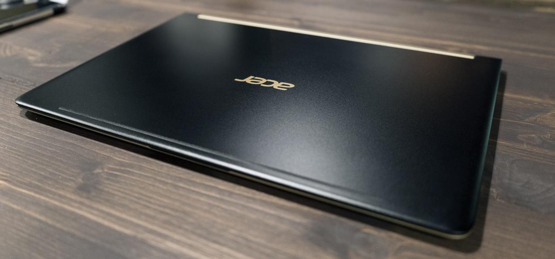 Обзор ноутбука Acer. У него меньше сантиметра и он не комплексует