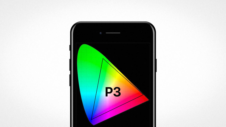 Почему экран iPhone 7 такой цветастый? Всё о профиле P3