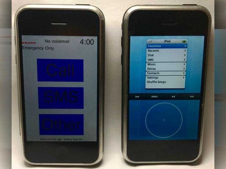 Ранние прототипы iPhone сравнили навидео