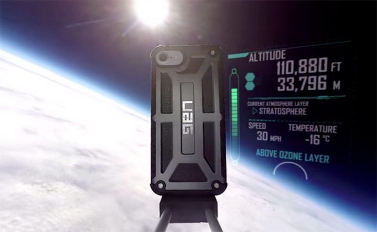 iPhone 7 выжил после падения «из космоса»