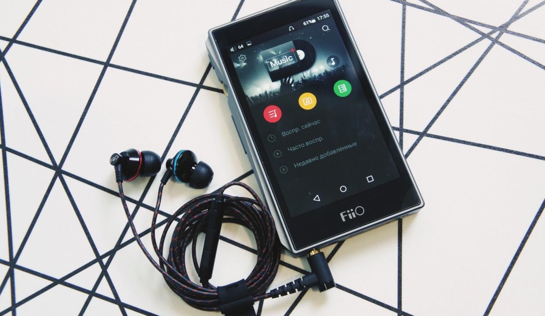 Обзор мегаплеера FiiO X5 3rd Gen и наушников EX1. Android + аудиофил = ❤