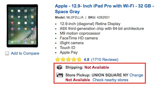 ipad-pro-best-buy-not-available