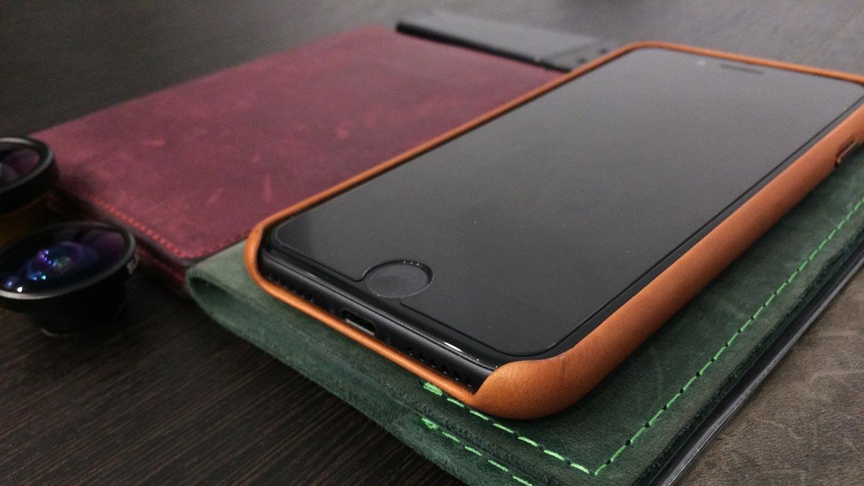 Опыт использования кожаного чехла Apple для iPhone 7