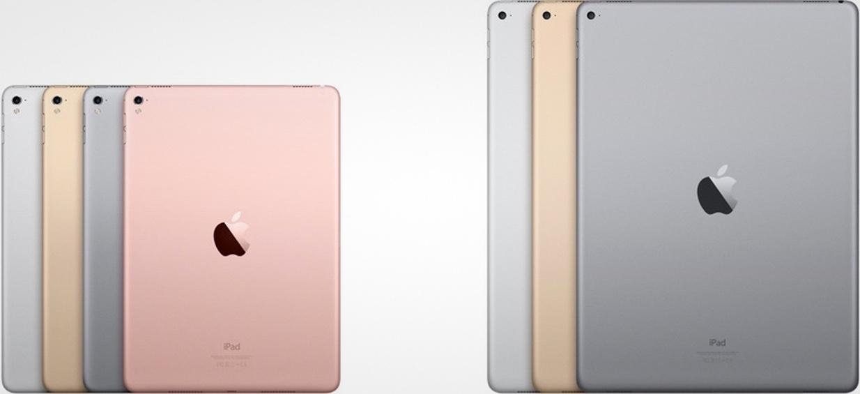 В Купертино работают минимум над двумя новыми iPad Pro