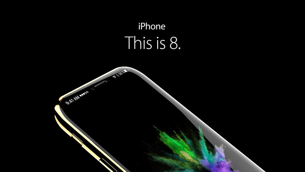 В новой схеме iPhone 8 засветился двойной аккумулятор и сканер отпечатков в дисплее