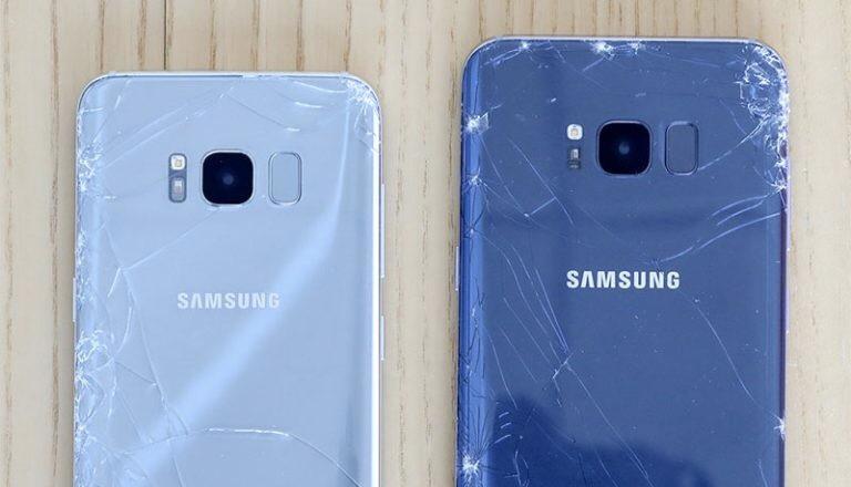 Samsung Galaxy S8 легко разбить