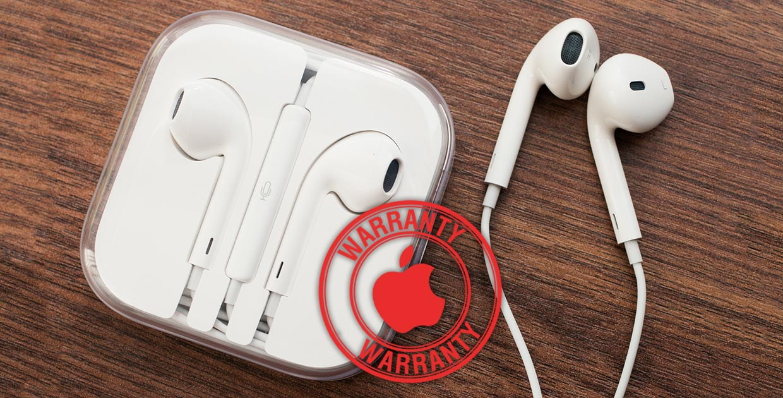 Как заменить EarPods или Lightning-кабель по гарантии