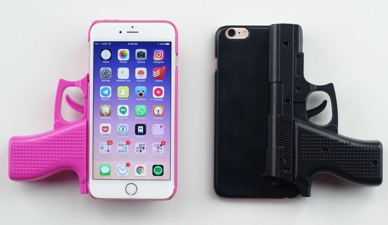 Чехол vouni для iphone 6 parallel gun black