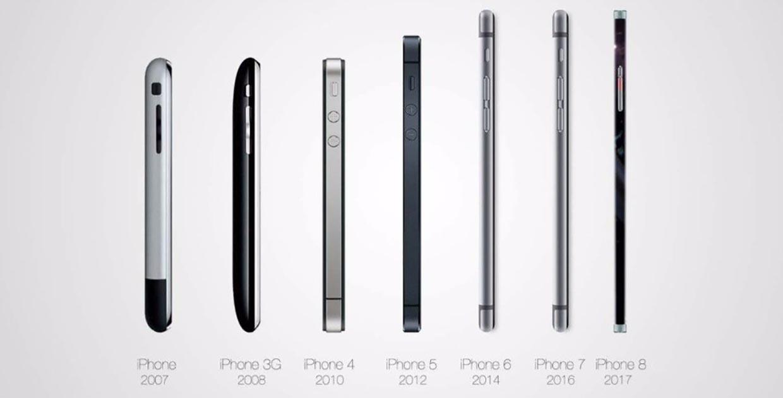 Если бы iPhone 8 вышел раньше, он выглядел бы так