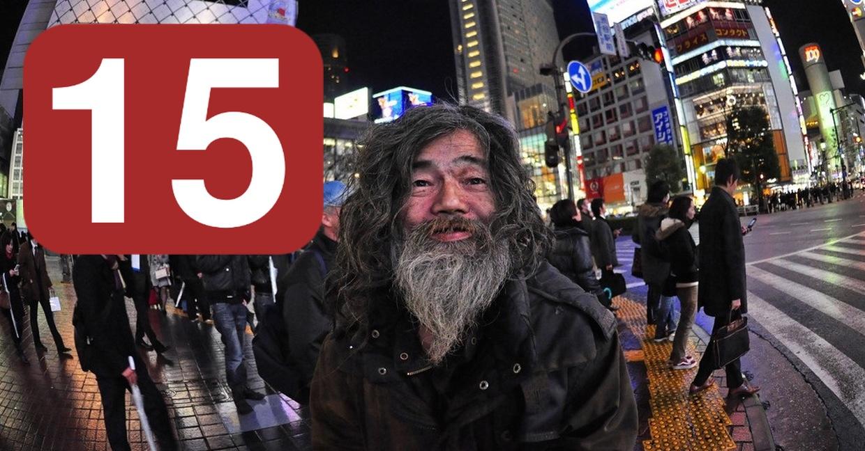 15 лучших бомжей Москвы, снятых на iPhone 7